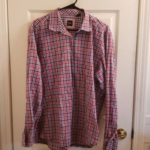 Men's Hugo Boss Shirt XL Plaid